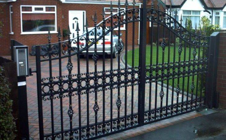 Front Garden Metal Fencing Ideas Decor References