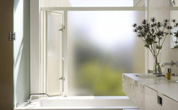 Frosted Glass Window Privacy Design Inspiration