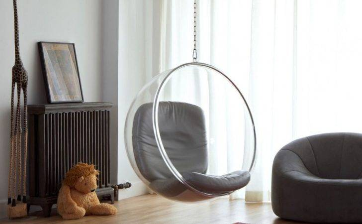 Fun Homes Feature Indoor Swings Stay Casual