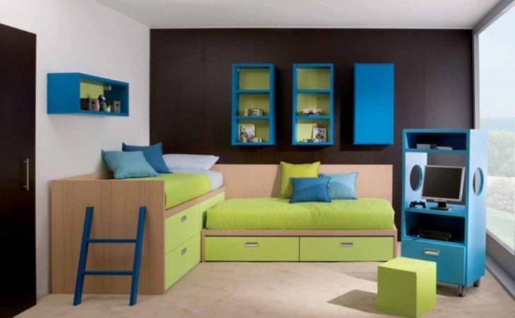 Fun Modern Kids Bedroom Furniture Ideas