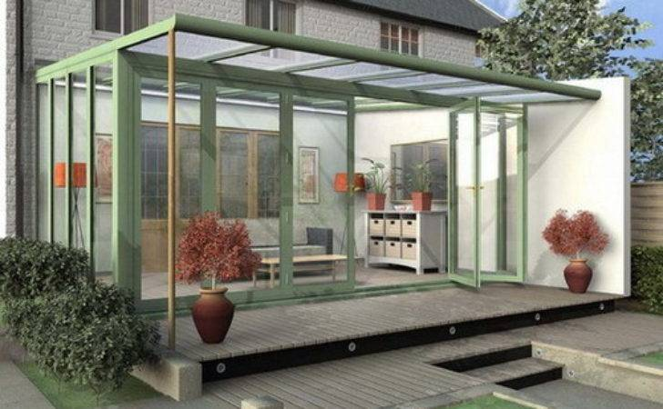 Functionality Offered Attractive Glass Garden Rooms
