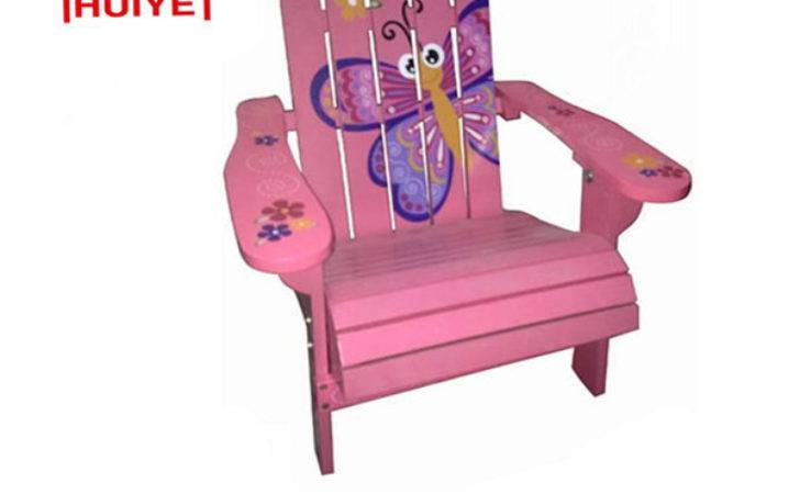 Funky Butterfly Kids Wooden Garden Chairs China Baby