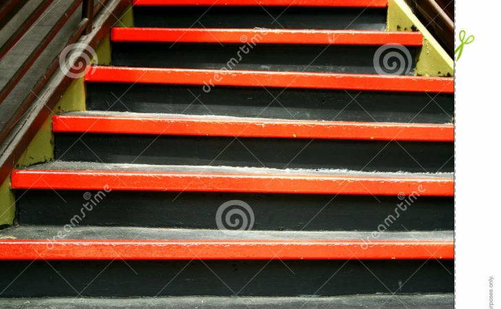 Funky Colored Stairs Design