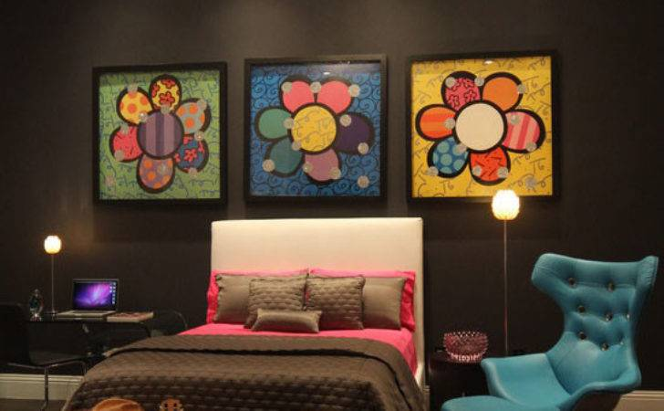 Funky Decorating Ideas Also Bed Decoration