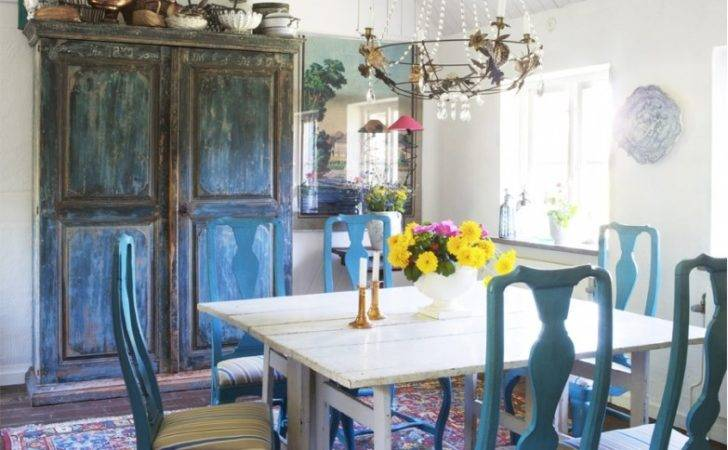 Funky Eclectic Dining Room Design Ideas