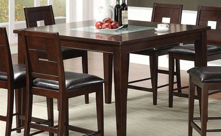 Furniture America Primrose Counter Height Dining Table