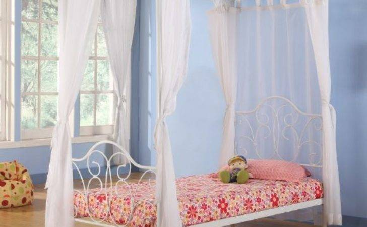 Furniture Canopy Beds Girls Endearing Design