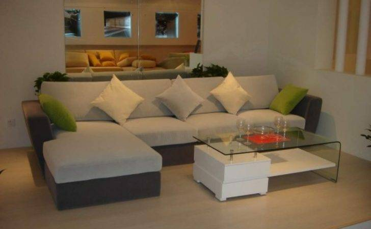 Furniture Lovely Small Shaped Couch Minimalist Home