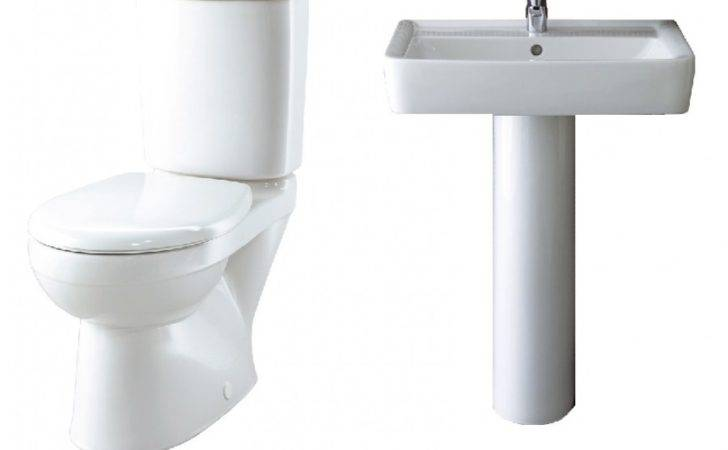 Galerie Plan Toilet Wash Basin Set
