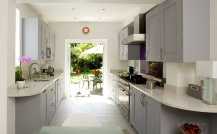 Galley Kitchen Design Decorating Ideas