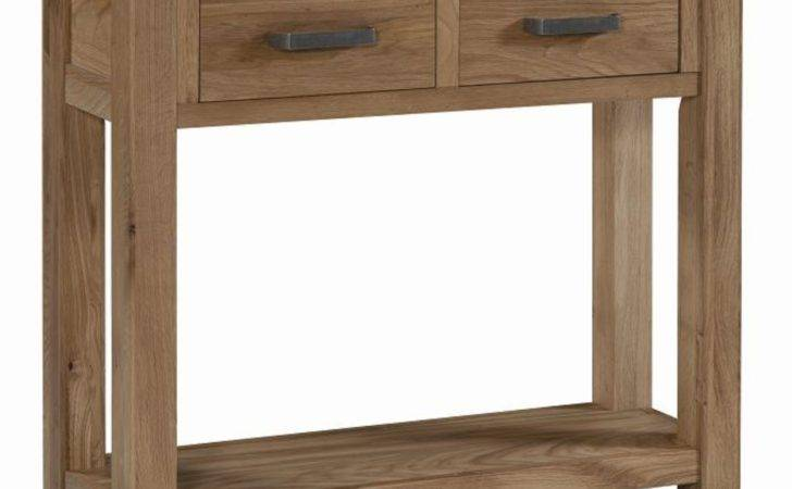 Galway Solid Oak Living Room Hallway Furniture Small