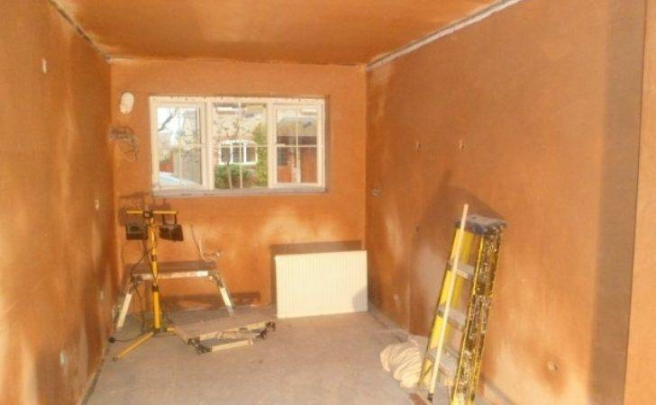 Garage Conversion Into Kitchen Started January