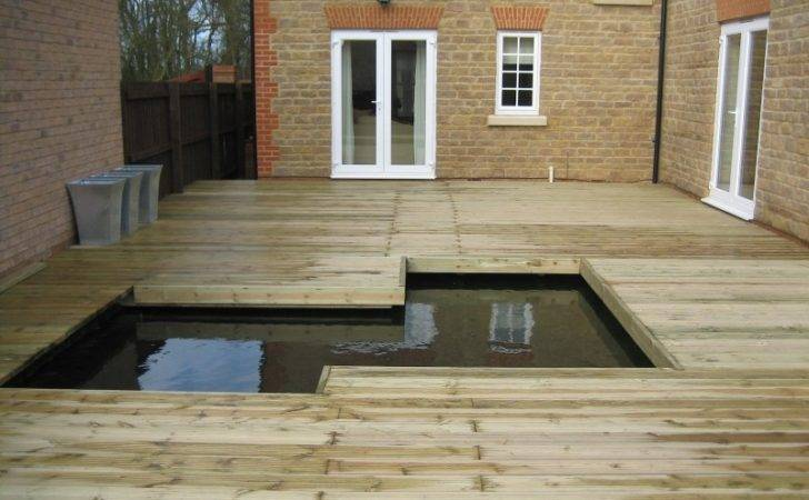 Garden Decking Ideas Small Gardens Margarite