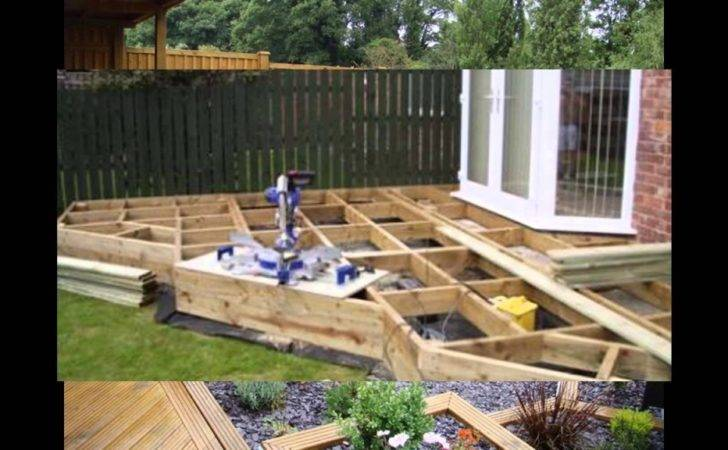 Garden Designs Small Decking