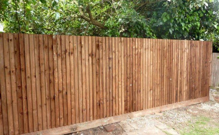 Garden Fence Ealing Amg Building Solutions