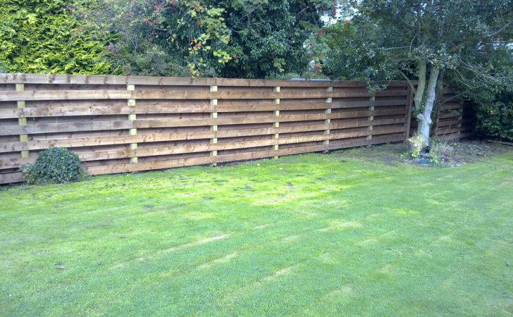 Garden Fencing Edinburgh Construction