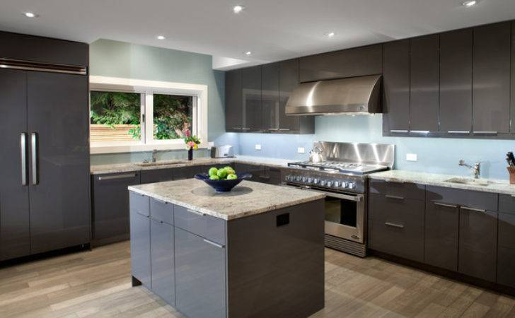 Garden House Kitchen Modern Vancouver