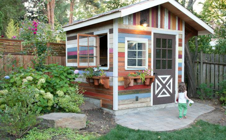Garden Shed Life Color Photography