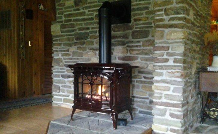 Gas Stove Install Replace Wood Traditional