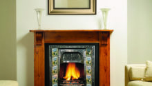 Gazco Classic Victorian Combination Tiled Insert Fireplace