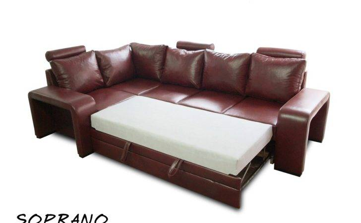 Genuine Leather Sofa Bed Real Beds