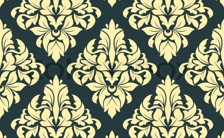 Geometric Bold Arabesque Seamless Pattern Large