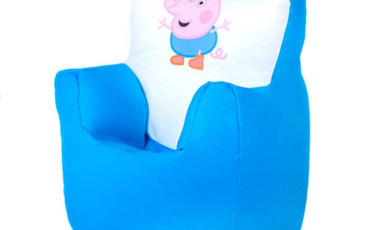 George Peppa Pig Children Kids Bean Bag Chair Seat Boys
