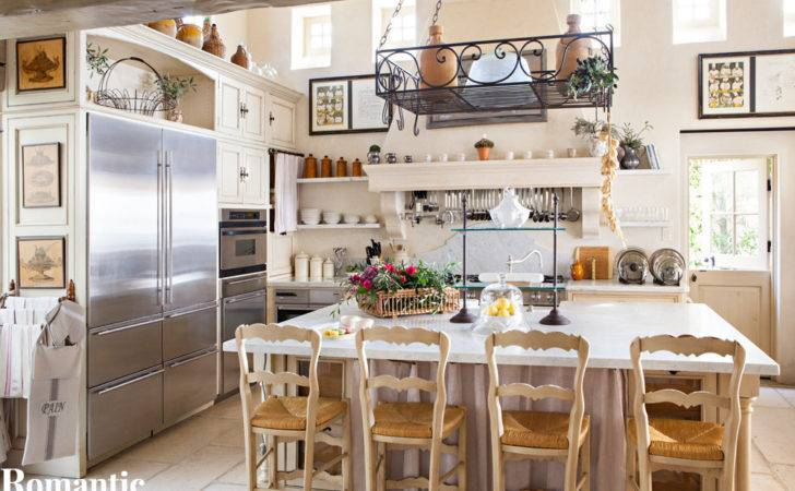 Get French Country Kitchen Budget Romantic Homes