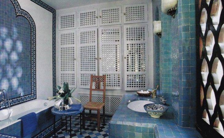 Get Moroccan Style Your Luxury Bathroom