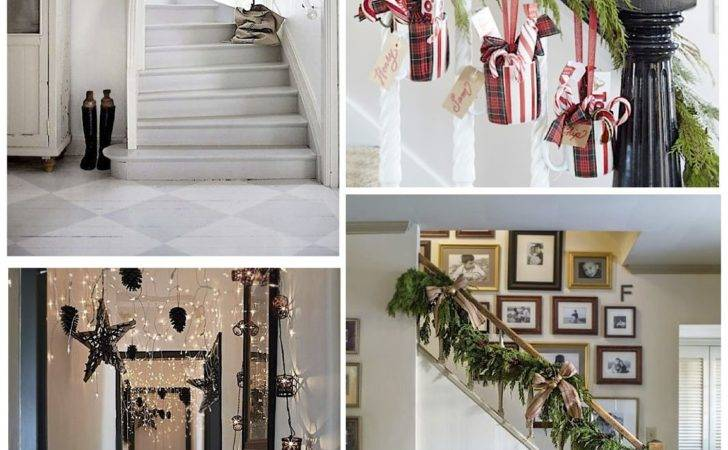 Get Your Home Ready These Christmas Hallway Ideas