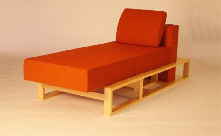 Gig Chair Transforms Into Bed Chaise Ottoman