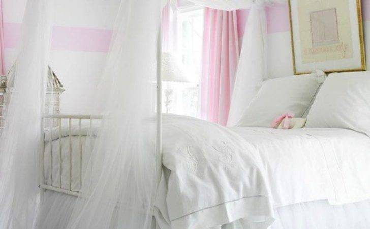 Girl Canopy Bed Traditional Room Atlanta