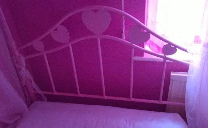 Girls Pink Poster Bed Drapes Buy Sale Trade Ads