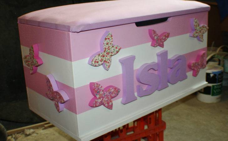 Girls Toy Boxes Traditional Box Company