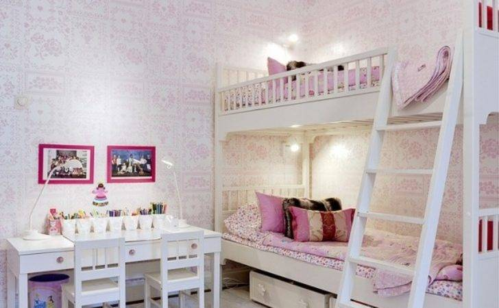 Girly Bunk Beds Bedrooms