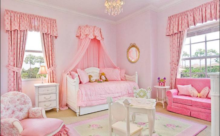 Girly Girl Vintage Style Bedrooms Room Design Ideas