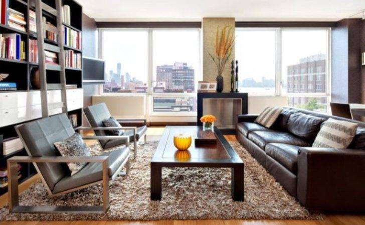 Give Your Living Room Elegant Look Brown Leather