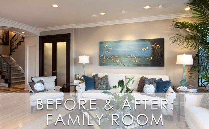 Glamorous Modern Room Before After Robeson