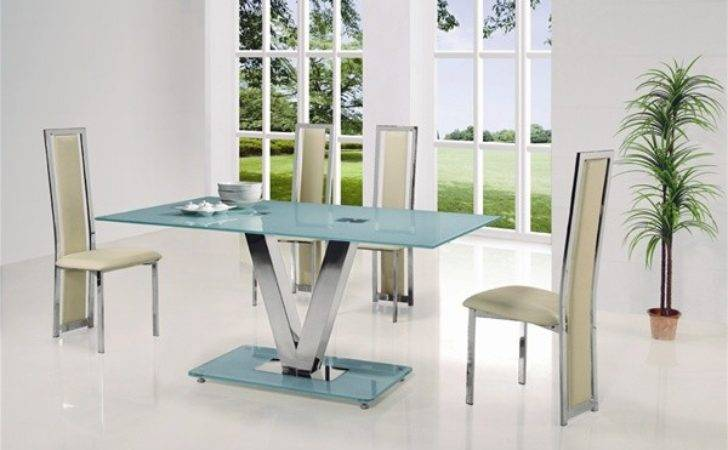 Glass Dining Table Chairs Tables