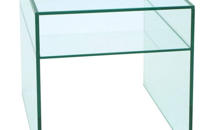 Glass Furniture Side Tables Contemporary