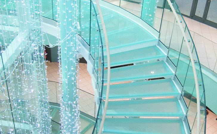 Glass Stairs Staircase Design