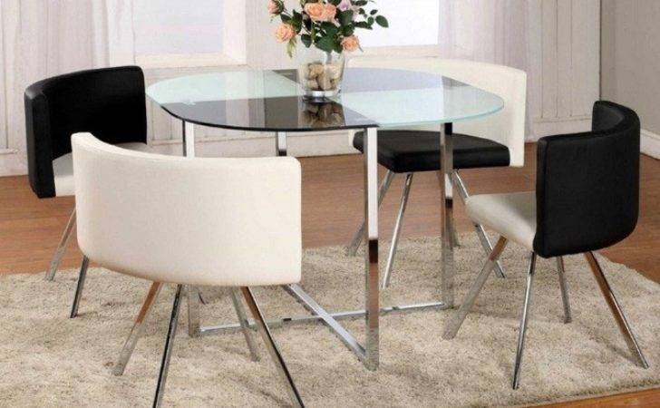 Glass Top Dining Table Ideas Small Spaces