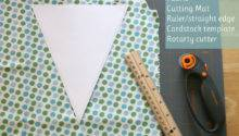 Glorious Treats Make Fabric Bunting