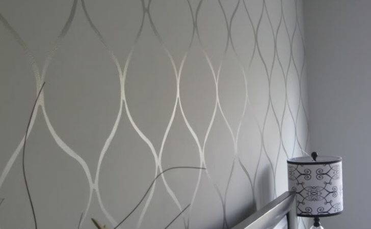 Gloss Matte Create Neat Wall Patterns Painted