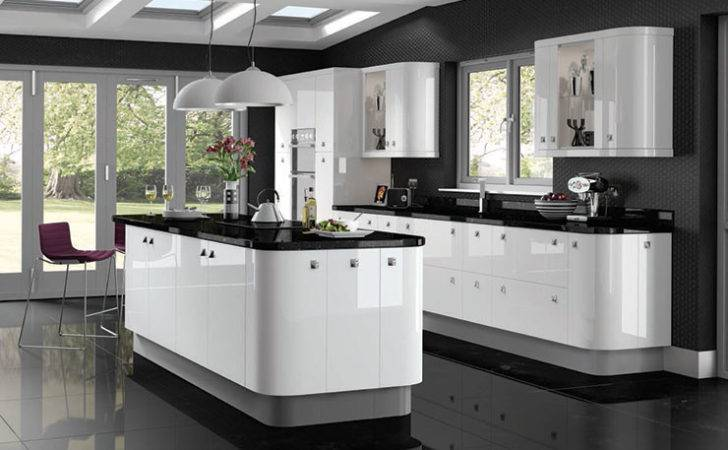 Gloss White Fitted Kitchens Glossy Ready Made