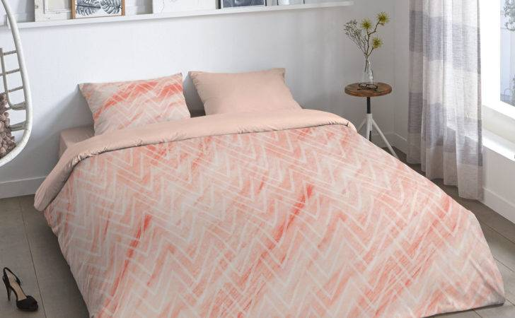 Good Morning Sharon Duvet Cover Set Coral Next Day