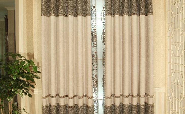 Good Quality Blended Linen Cotton Designer Curtains