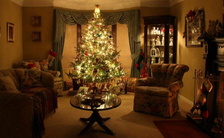 Gorgeous Christmas Living Room