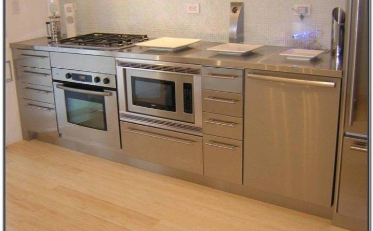 Gorgeous Stainless Steel Kitchen Cabinets Ikea