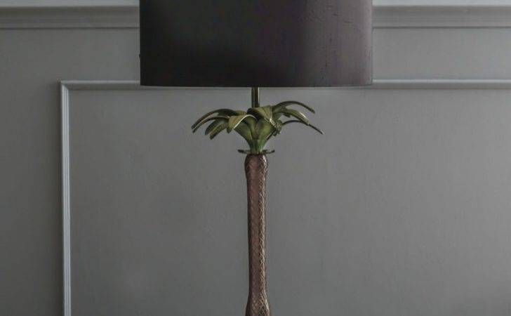 Graham Green Tall Palm Tree Table Lamp Shopstyle